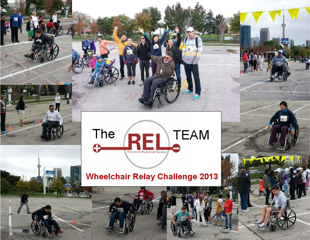Wheelchair Relay Challenge 2013